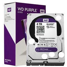 Western Digital 西部数据 WD40PURX 紫盘 4TB 监控级机械硬盘