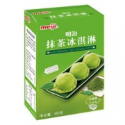 plus会员、限地区:meiji  明治 抹茶冰淇淋490g*5件112.5元包邮(需用券  折合22.5元/件)