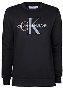 Calvin Klein 卡尔文·克莱恩 Monogram Logo 男士印花圆领卫衣 到手¥180.99