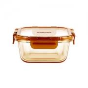 美国 康宁 snapware 耐热玻璃保鲜饭盒 500ml24.9元包邮小降5元