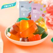 imint 橡皮糖 果汁软糖 水果味QQ糖68g*515.9元(需用券)