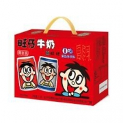 88VIP:旺旺 旺仔O泡组合装 245ml*8罐(儿童牛奶*5+O泡果奶*3) *3件49.82元包邮(多重优惠,合16.6元/件)