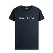 NAUTICA 诺帝卡 NDTS020472F25 男士 圆领短袖T恤85元(需用券)