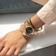 有晒单!ANNE KLEIN AK/1470 女款腕表手镯套装   含税到手约¥233.33