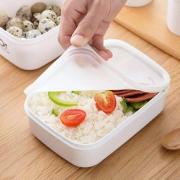 诺诺/保鲜盒塑料家用食品级带盖饭盒13.8元