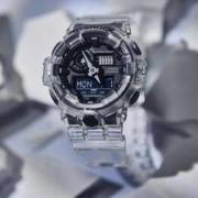 CASIO 卡西欧 G-Shock冰韧系列 GA-2000SKE-7A 男士石英表
