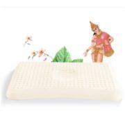 Tatex按摩减压呵护颈椎吸湿祛热天然婴儿定型乳胶枕头枕芯 乳胶含量94%150元