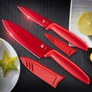 持久锋利!WMF 福腾宝 Red Touch系列 刀具套装2件装1879085100