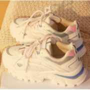 Puella 2M11001YP 复古厚底老爹鞋