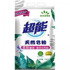 聚划算百亿补贴:超能 天然皂粉 青柠西柚1.028kg*2袋