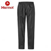 限XL码!Marmot 土拨鼠 PreCip Eco 男士防水透气冲锋裤    含税到手¥316