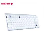 CHERRY 樱桃 MX BOARD 8.0 87键 有线机械键盘 白色 白光 青轴