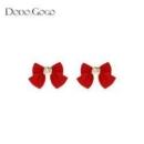 DODOGOGO DG20E1227 女士蝴蝶结耳环17.5元包邮(双重优惠)