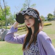 韩比拉旗舰店 时尚网红贝壳遮阳帽