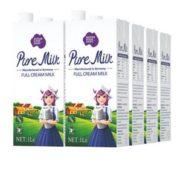 澳洲原装进口 Nepean River Dairy 尼平河 全脂高钙牛奶 1L*12盒¥68.94 3.2折 比上一次爆料降低 ¥7.26