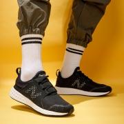 20点开始、前1500件:new balance Fresh Foam系列 MCRUZBK 男款跑鞋143元包邮