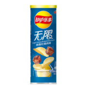 Lay's 乐事 无限薯片 吮指红烧肉味 104g罐装 *3件16.59元(合5.53元/件)