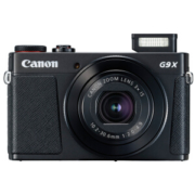 Canon 佳能 PowerShot G9X Mark II 数码相机 黑色