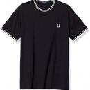 多码!Fred Perry 佛莱德·派瑞 男士麦穗刺绣短袖T恤 M1588 到手约¥337.25¥309.12