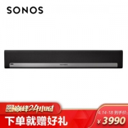 Sonos 搜诺思 PLAYBAR 家庭智能音响 黑色3980元包邮(需用券)