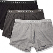 prime会员!Hugo Boss 雨果·博斯 男士平角内裤 3条装  直邮含税到手¥151¥137.42