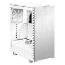 Fractal Design 分形工艺 Define 7 Compact 白色(透明钢化玻璃//主动降噪/静音风扇/水冷支持)