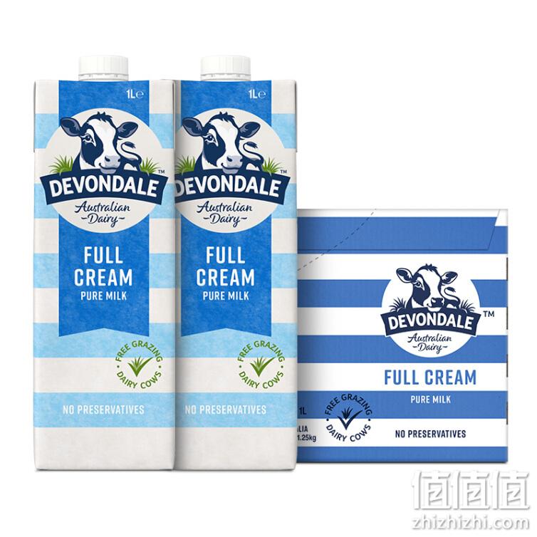 Devondale 德运 全脂高钙纯牛奶