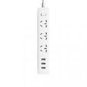 MI 小米 新国标USB接线板 3USB接口+3孔位 1.8m35元包邮