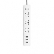 MI 小米 新国标USB接线板 3USB接口+3孔位 1.8m