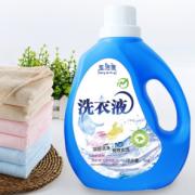 PLUS会员、易漂洗!圣洁康 低泡洗衣液 2瓶+2袋共9.4斤¥14.90