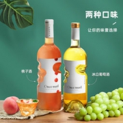 慕拉 桃子酒 低度水果酒 750ml*2瓶39元包邮(双重优惠)