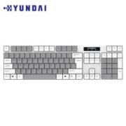 18日0点:HYUNDAI 现代数码 NK3000C 104键 无线薄膜键盘 充电款44.9元