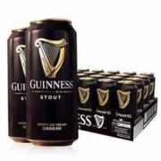 GUINNESS 健力士 爱尔兰进口啤酒 440ml*12听59元包邮(需用券)