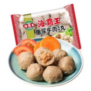 Q弹爽口!海霸王 牛肉丸   500g¥6.73 比上一次爆料降低 ¥2.71