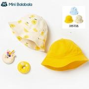 Mini Balabala 迷你巴拉巴拉 儿童全棉印花帽子21.9元