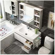 Uniler 联勒 实木免漆浴室柜 清风经典款 80cm