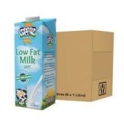 88VIP、临期品:PREMIER DAIRIES 爱尔优 低脂牛奶 1L*6盒*2件56.88元包邮包税(双重优惠,合28.44元/件)