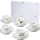 Narumi 鸣海 里花历系列 陶瓷咖啡杯&盘10件套 40912-32953  到手¥297.42¥272.61 比上一次爆料降低 ¥0.63