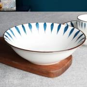 釉下彩!金玫瑰 陶瓷汤碗 流星雨 8英寸*2个¥11.90 比上一次爆料降低 ¥1