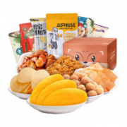 Three Squirrels 三只松鼠 水果干零食大礼包 6袋¥11.00 2.8折 比上一次爆料降低 ¥9.75