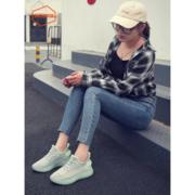 SHOEBOX 男女 时尚飞织椰子鞋69元包邮(需用券)