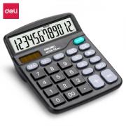 deli 得力 837ES 大屏幕桌面计算器 单个装