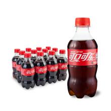 Coca-Cola 可口可乐 可乐 300ML*12瓶