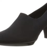 prime会员!ECCO 爱步 Shape 55型塑系列 女士真皮粗跟单鞋  含税到手¥443.4