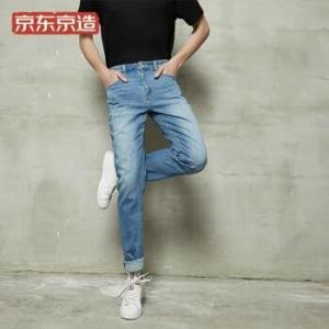 J.ZAO 京东京造 6941592718031 二代经典水洗直筒牛仔裤