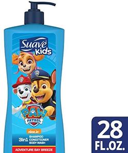 Suave 丝华芙 儿童洗发护发沐浴三合一 828mL*4瓶    含税到手约¥173