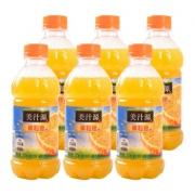 美汁源 果粒橙 橙汁饮料 300ml*6瓶9.9元包邮