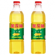 金龙鱼 精炼一级大豆油900ml*2小瓶17.89元包邮