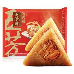 WUFANGZHAI五芳斋 速冻粽子鲜肉味 500g*10件