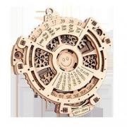 Zhiqixiong 稚气熊 3d木质机械齿轮传动万年历17.8元包邮(需用券)